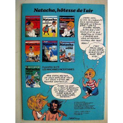 NATACHA N°8 - INSTANTANES POUR CALTECH (Walthéry - Borgeres) Dupuis 1981 Edition Originale (EO) Très bon état
