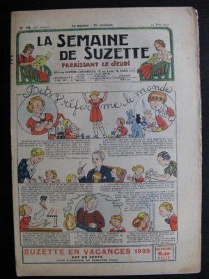 La Semaine de Suzette 31e année n°28 (13/06/1935) – Betsy réforme le monde (Bécassine)