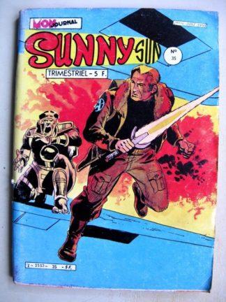 SUNNY SUN N°35 - LA MARABUNTA DES ETOILES (Mon Journal 1982)