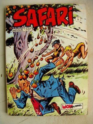 SAFARI (Mon Journal) N°51 Katanga JOE – Le Prince du Désert