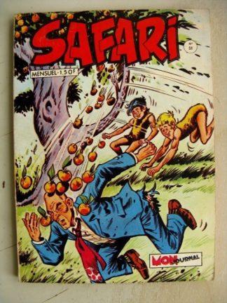 SAFARI N° 51 Katanga Joe - Le Prince du Désert (Mon Journal 1971)