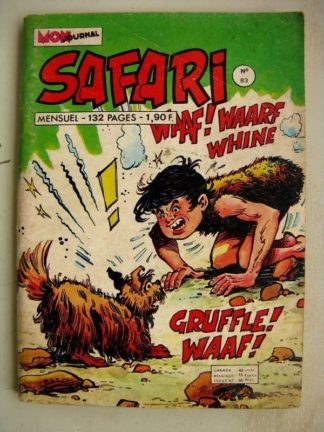 SAFARI N° 83 Katanga Joe - Super Akim Oscar (Mon Journal 1974)