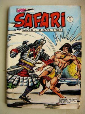 SAFARI (Mon Journal) N°113 Katanga JOE – Le roi farceur