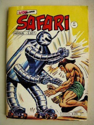 SAFARI N° 113 Katanga Joe - L'Oeuf de Fer - Kid Pharaon - Le Dernier Combat (Mon Journal 1977)