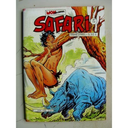 SAFARI N°158 (Mon Journal 1984)