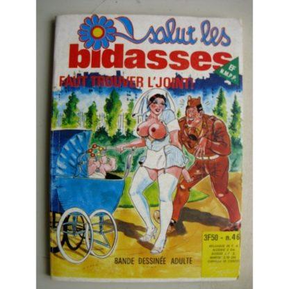SALUT LES BIDASSES N°46 Faut trouver L'joint (Elvifrance)