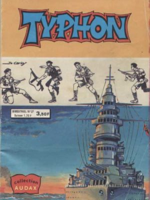 TYPHON N°27 – Le proscrit (Collection Audax) Aredit