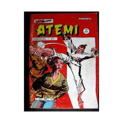 ATEMI N°197 POING D'ACIER - LE CIMETIERE D'IRITO