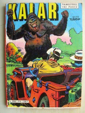 KALAR N°213 AU COEUR DE L'AFRIQUE (Impéria 1982)