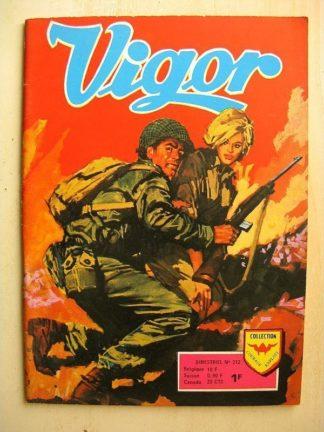 VIGOR N°212 Un curieux professeur (Aredit 1975)