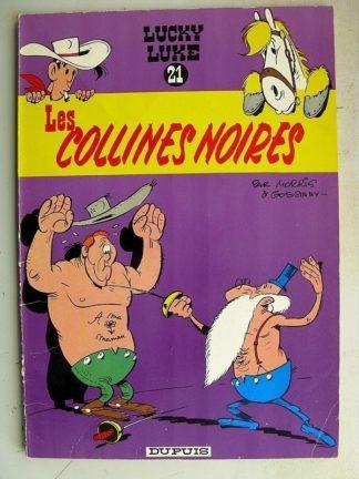 LUCKY LUKE N°21 Les Collines Noires (Dupuis 1969)