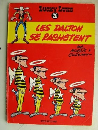 LUCKY LUKE N°26 Les Dalton se rachètent (Dupuis 1969)