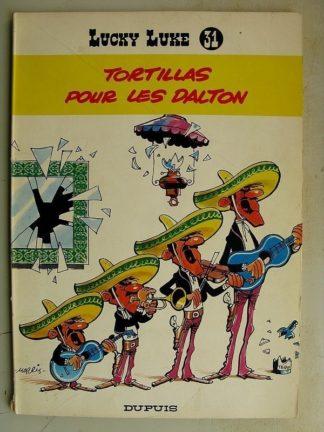 LUCKY LUKE N°31 Tortillas pour les Dalton (Dupuis 1970)