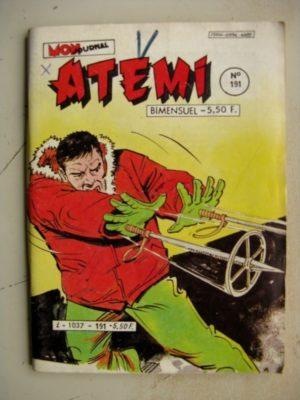 ATEMI (Mon Journal) N°191 ROCKY – Massacre entre quatre cordes