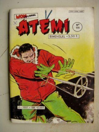 ATEMI N°191 ROCKY - MASSACRE ENTRE QUATRE CORDES