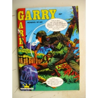 GARRY N° 442 Le Fleuve Noir (Impéria 1985)