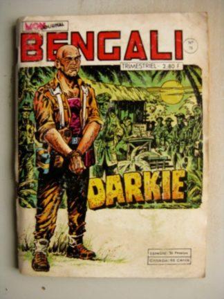 BENGALI N° 75 Akim - Le dragon d'or (MON JOUNAL 1979)