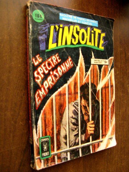 L'INSOLITE (Comics Pocket) n°19 - Le spectre emprisonné