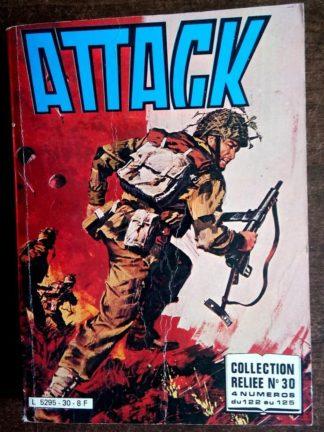 ATTACK ALBUM RELIE N°30 (n°122-123-124-125) IMPERIA 1981