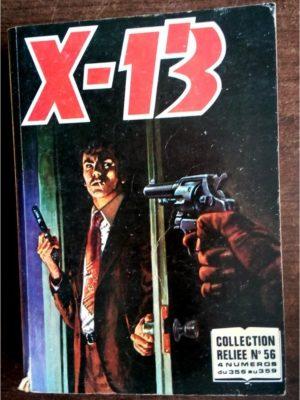 X13 AGENT SECRET ALBUM RELIE 56 (N°356-357-358-359) IMPERIA 1979