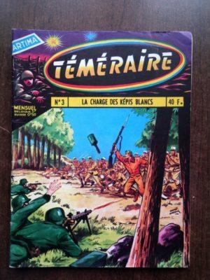 TEMERAIRE (1E SERIE) N°3 TOMIC (La charge des Képis blancs) ARTIMA 1958