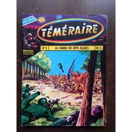 TEMERAIRE N°3 TOMIC (La charge des Képis blancs) ARTIMA 1958