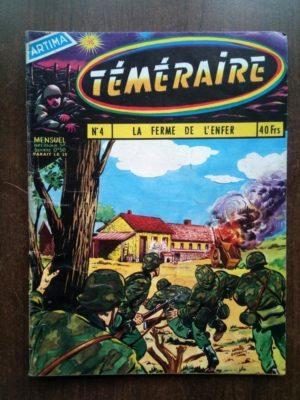 TEMERAIRE (1E SERIE) N°4 TOMIC (La ferme de l'enfer) ARTIMA 1959