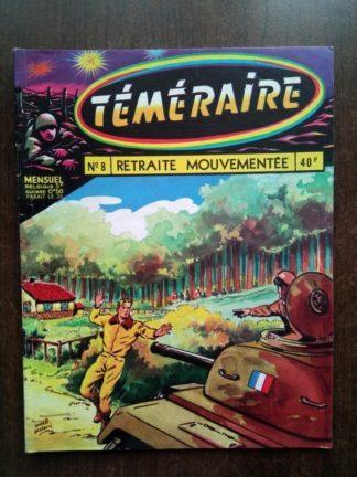 TEMERAIRE (1E SERIE) N°8 TOMIC (Retraite mouvementée) ARTIMA 1959