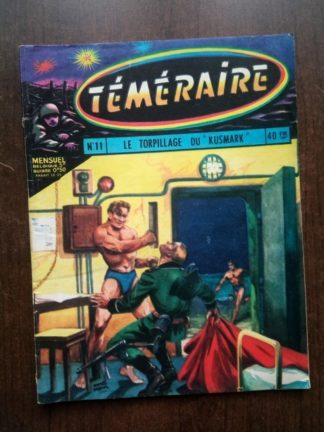 TEMERAIRE (1E SERIE) N°11 TOMIC (Le Torpillage du Kusmark) ARTIMA 1959