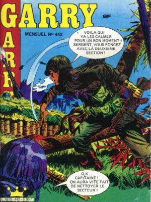 GARRY N°442 Le Fleuve Noir – IMPERIA 1985