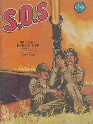 SOS (1e série) N°99 Un dialogue difficile (2e partie) AREDIT 1965