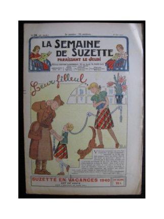 La Semaine de Suzette 36e année n°24 (1940) Leur filleul