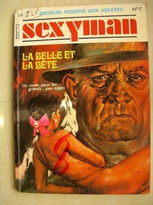 Sexyman n°7 La belle et la bête