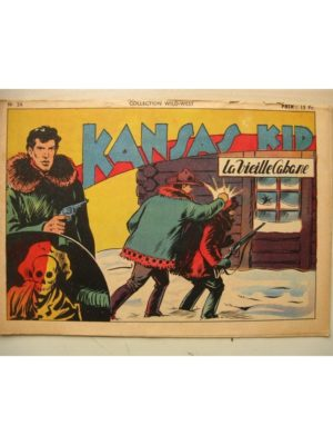 Collection Wild West n°26 KANSAS KID (Carlo Cosio) SAGE