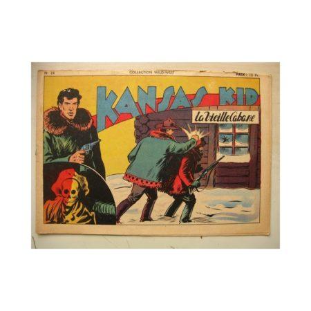Collection Wild West n°26 KANSAS KID (Carlo Cosio) SAGE