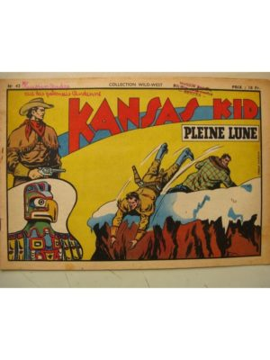 Collection Wild West n°42 KANSAS KID (Carlo Cosio) SAGE