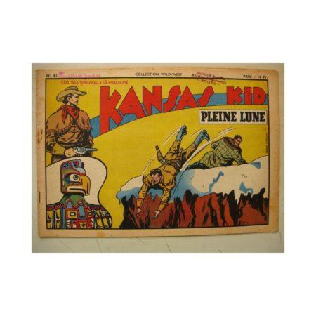 Collection Wild West n°42 KANSAS KID (Carlo Cosio) SAGE