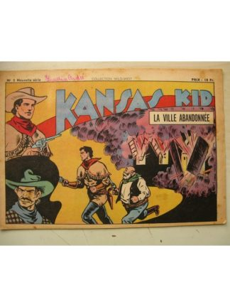 Collection Wild West nouvelle série n°5 KANSAS KID (Carlo Cosio) SAGE