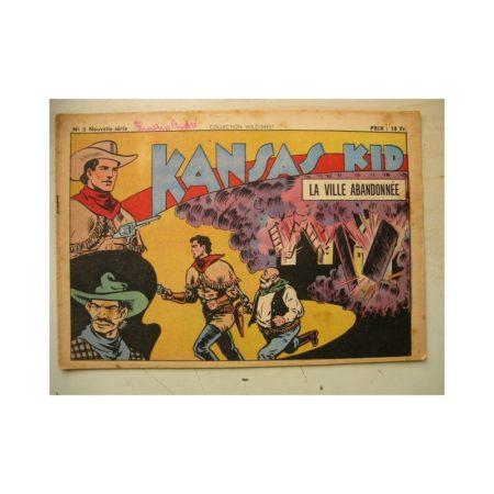 Collection Wild West nouvelle série n°5 KANSAS KID (Carlo Cosio) SAGE