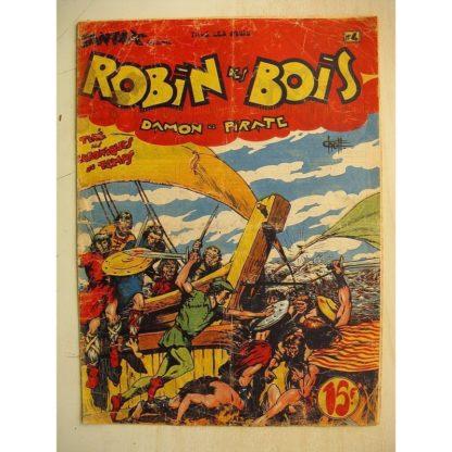 ROBIN DES BOIS N°4 Damon le pirate (Editions Pierre Mouchot 1948)
