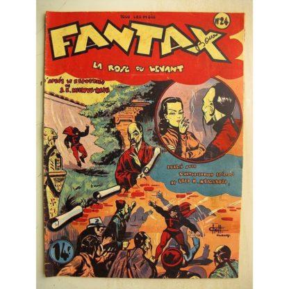 FANTAX N°24 La Rose du levant (Chott) Editions Pierre Mouchot 1947