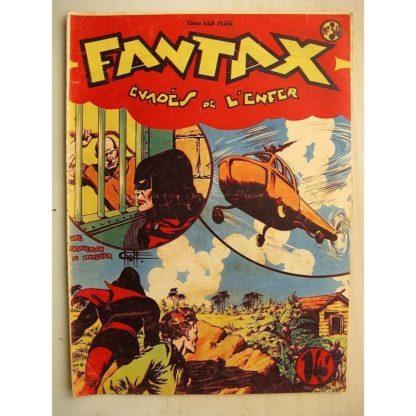 FANTAX N°30 Evadés de l'enfer (Chott) Editions Pierre Mouchot 1948