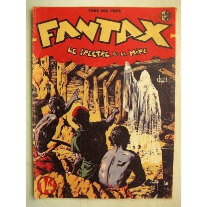 FANTAX N°31 Le spectre de la mine (Chott) Editions Pierre Mouchot 1948