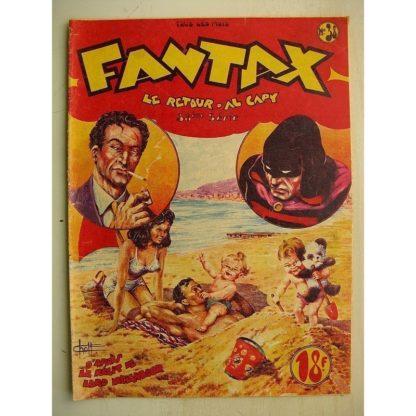 FANTAX N°38 Le retour d'Al Capy (Chott) Editions Pierre Mouchot 1949