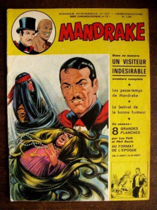 MONDES MYSTERIEUX - MANDRAKE N°371 (REMPARTS 1972)