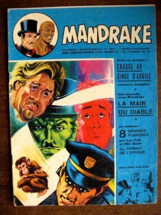 MONDES MYSTERIEUX - MANDRAKE N°364 (REMPARTS 1972)