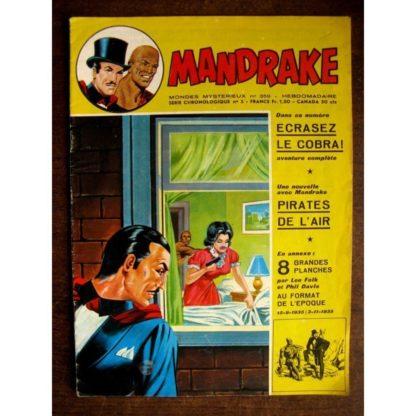 MONDES MYSTERIEUX - MANDRAKE N°359 ((REMPARTS 1972)