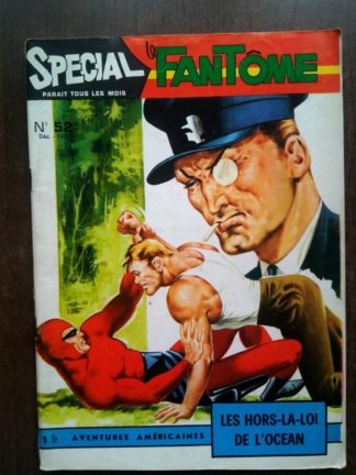 SPECIAL LE FANTOME - AVENTURES AMERICAINES N°52 (EDITIONS DES REMPARTS 1962)
