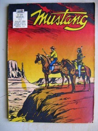 Mustang n°220 (Semic)