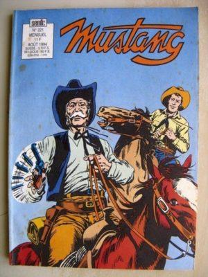MUSTANG N°221 – TEX WILLER (Texas Bill – 4e partie) SEMIC 1994